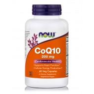 CoQ10 200MG - 60 VEG CAPS