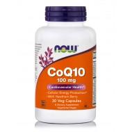 CoQ10 100MG, NON-GMO VEGAN | 30 CAPSULES