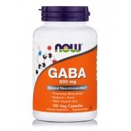 GABA 500 MG - 100 VEGETABLE CAPS
